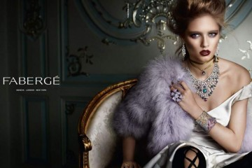 first advertising campaign Faberge
