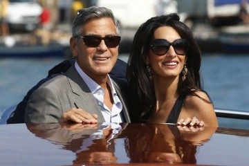 George Clooney and Amalalamuddin 02