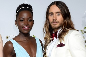 Lupita Nyong'o together Jared Leto