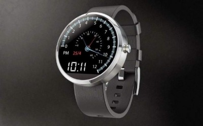 Motorola Moto 360 smartwatch with SPEEDO