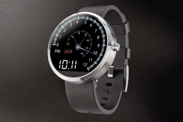 Motorola Moto 360 smartwatch with SPEEDO