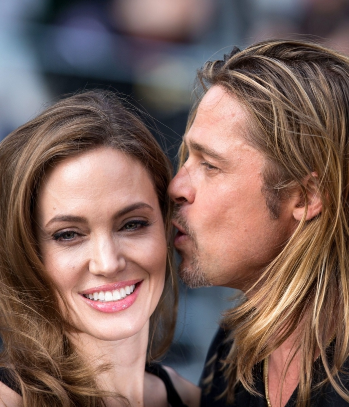 First, the actors tried to hide their relationship - as long as not to become pregnant Jolie