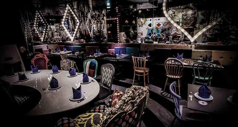 On taste and color most unusual restaurants luxe fair