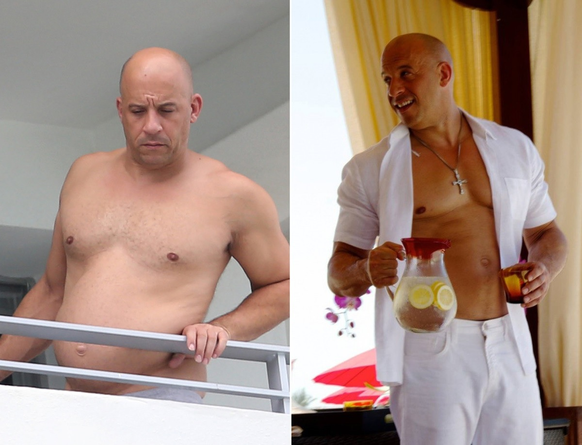 It is not the macho: 48-year-old Vin Diesel strongly stout • Luxe Fair